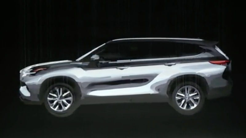 Illustration for article titled The 2020 Toyota Highlander Is Nearly Here