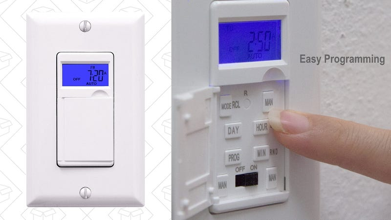 Enerlites Programmable Timer Switch, $16