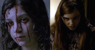"Illustration for article titled Side by side comparison: ""Let The Right One In"" vs. the American remake"