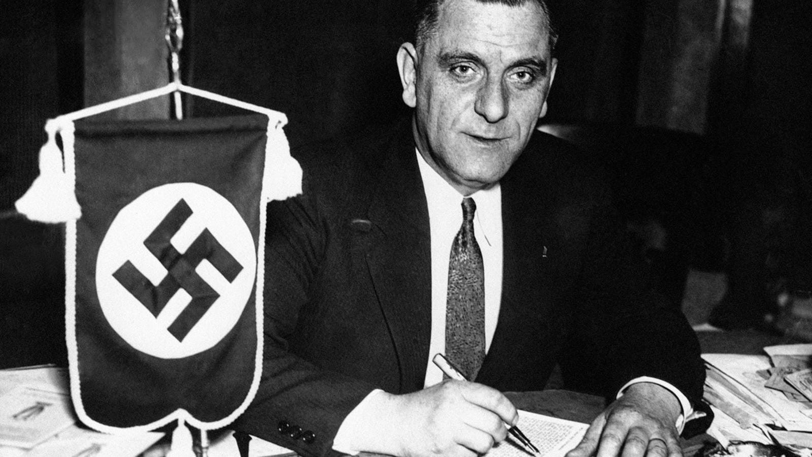 photo image America's Top Nazi Sued Warner Bros. for Libel in 1939 Because He Didn't Like the Movie Confessions of a Nazi Spy