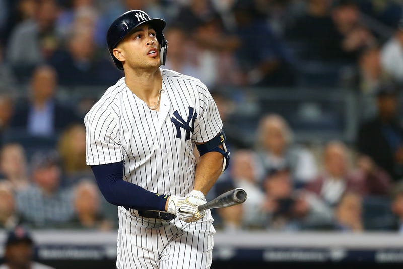 Illustration for article titled The Yankees Were Obsessed With Giancarlo Stanton's Swing