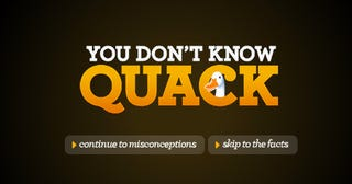 """Illustration for article titled Aflac's """"You Don't Know Quack"""" Draws Lawsuit From """"You Don't Know Jack"""""""