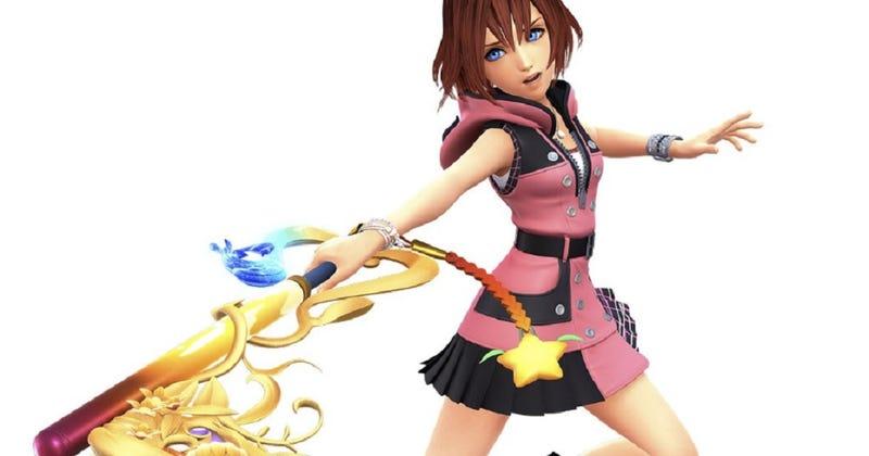 Illustration for article titled Kingdom Hearts' Kairi Problem