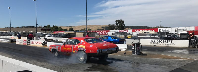 Illustration for article titled Sonoma Bracket Drags today....