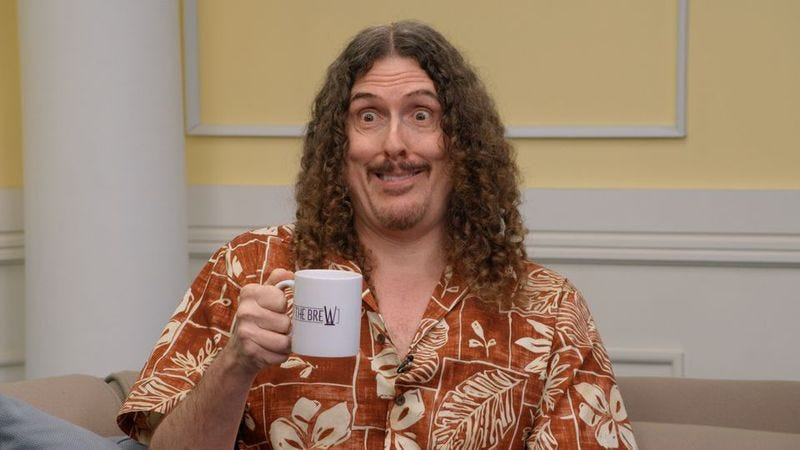 """Illustration for article titled """"Weird Al"""" Yankovic joins Comedy Bang! Bang! as bandleader and co-host"""