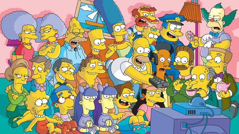 Illustration for article titled Upfront roundup: FX plots 12 days of nonstop Simpsons, more Americans