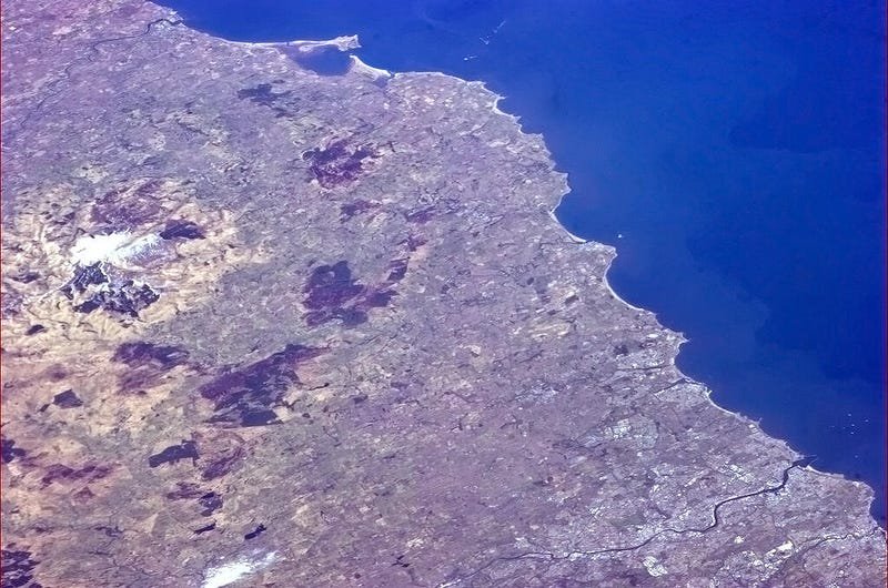 Illustration for article titled Chris Hadfield just tweeted a picture of my house from space!