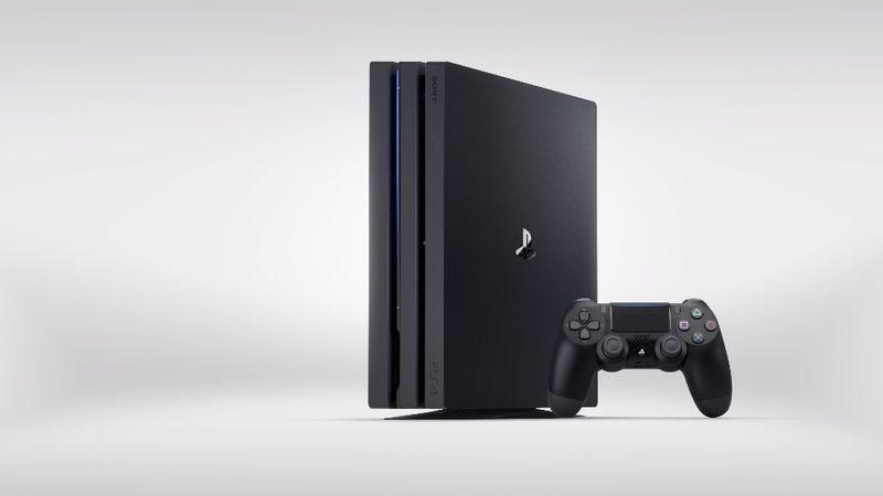 The PlayStation 4 Pro (Screenshot: YouTube)