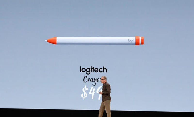 Illustration for article titled El nuevo Stylus de Logitech para iPad es un Apple Pencil a mitad de precio