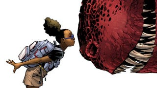 Illustration for article titled Moon Girl and Devil Dinosaur May Be Marvel's Most Adorable New Comic Ever