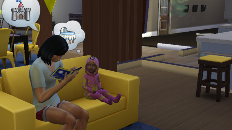 Illustration for article titled The Sims 4 Toddlers Are Actually Good This Time
