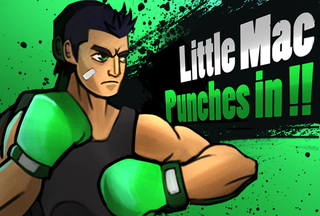 Illustration for article titled Smash Bros. 4 Character Prediction 4: Little Mac!