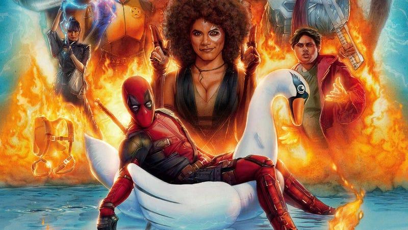 El póster final de Deadpool 2