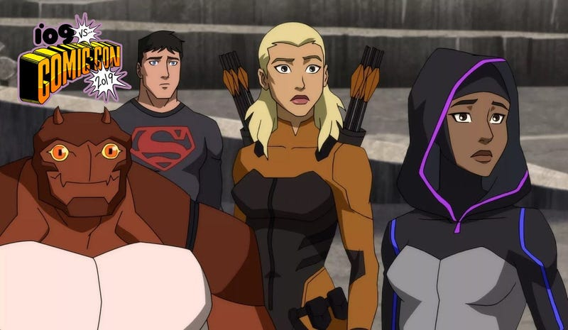 Forager, Superboy, Tigress, and Halo.