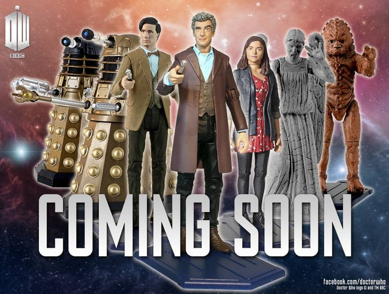 Illustration for article titled Need a nightmare? Behold, Peter Capaldi's first Doctor Who figure!