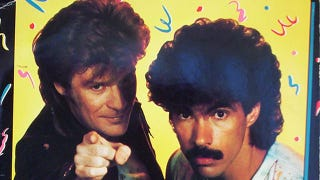 Illustration for article titled Feeling Down? Dial the Hall and Oates Hotline