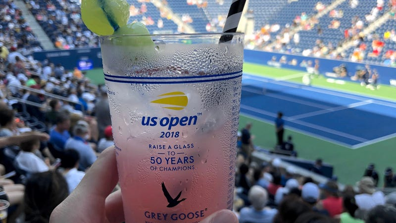 Illustration for article titled PSA: You Probably Have Access To Free Snacks and Drinks at the U.S. Open. Just Check Your Wallet.
