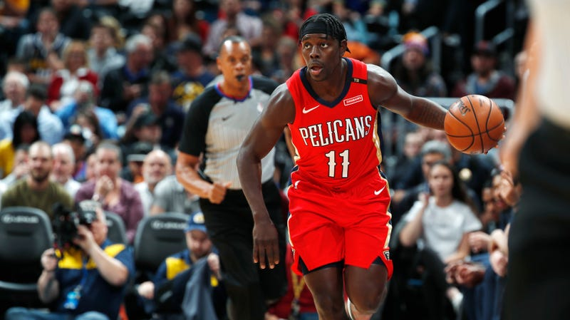 Illustration for article titled Jrue Holiday Will Punish You For Worrying About Anthony Davis