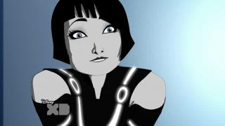 Illustration for article titled Olivia Wilde guest stars on Tron: Uprising and Bender joins the paparazzi