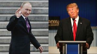 Vladimir Putin; Donald TrumpScott Olson/Getty Images; Lintao Zhang/Getty Images