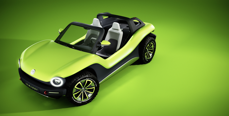 Illustration for article titled Here's Volkswagen's All-Electric Dune Buggy and It's More Like an Old-School Buggy Than You'd Think