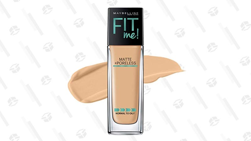 Maybelline Fit Me Matte Foundation | $5 | Amazon | Clip 25% Off Coupon