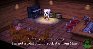Illustration for article titled Animal Crossing Deepens the Madness of Charlie Sheen
