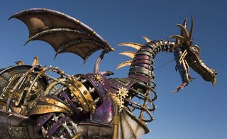 Illustration for article titled New Disney Parade to feature badass steam punk dragon.