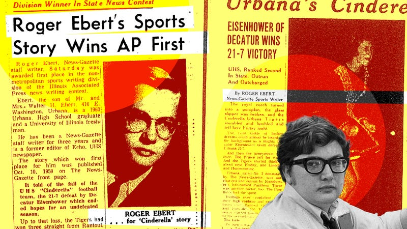 "Illustration for article titled ""The Faint Tinkle Of Broken Dreams"": Roger Ebert, Teenage Sportswriter"