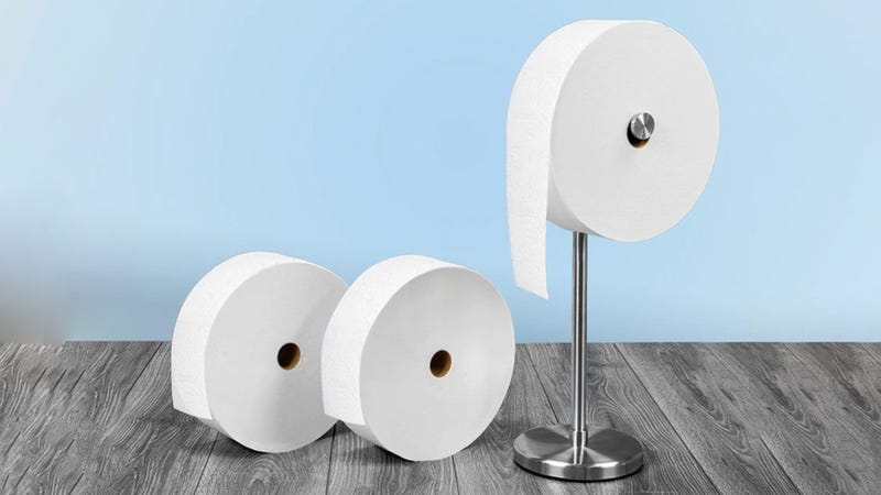 Should You Buy Charmin's Giant Toilet Paper Roll?
