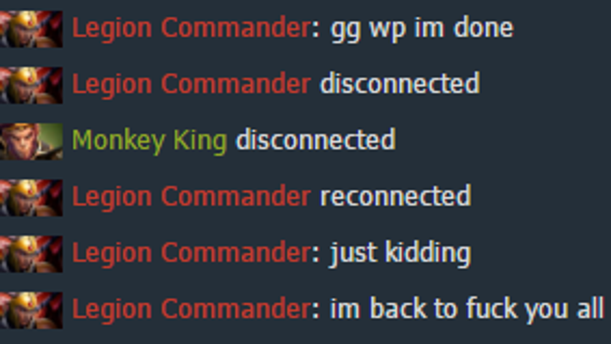 Dota 2 team matchmaking abandon