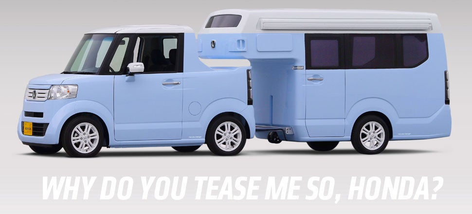 This Tiny Honda Camper Concept Returns Joy To The Peoples Of Earth
