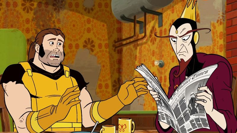 Illustration for article titled The Venture Bros. returns with a new look and the same style