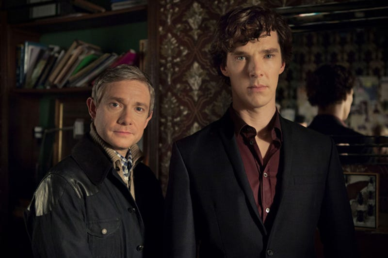 Illustration for article titled BBC Confirms Sherlock Series 4 and a Special Episode for 2015