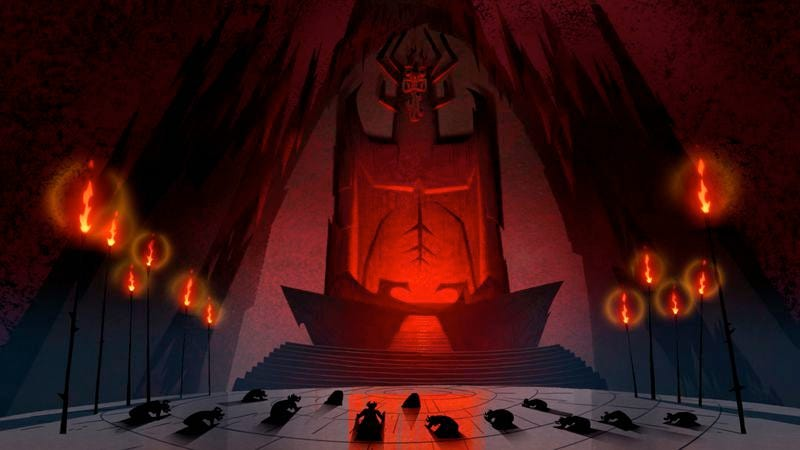Illustration for article titled Samurai Jack has a captivating battle with human consequences