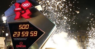 Illustration for article titled London's Olympics Clock Failed Hours After it Began the Big Count-Down