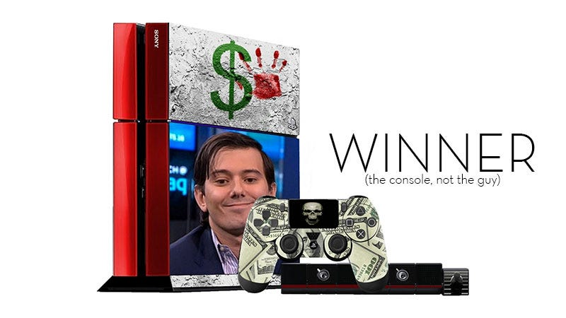 Illustration for article titled Kotaku 'Shop Contest: The Ugliest PlayStation 4: Winners!