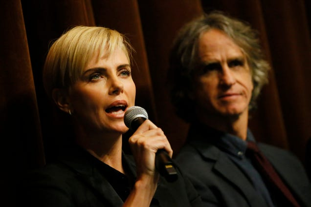 """Charlize Theron addresses """"incredibly frustrating"""" absence of Golden Globes nominations for female directors"""