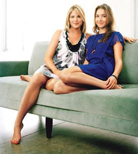 Illustration for article titled 'Glamour': Jenna Bush And BFF Are Thoroughly, Excruciatingly Normal