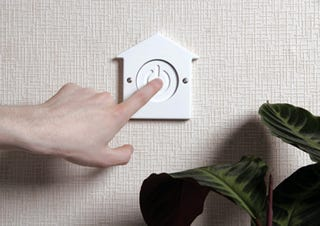 Illustration for article titled House-Off Button Makes 'Going Green' Easy