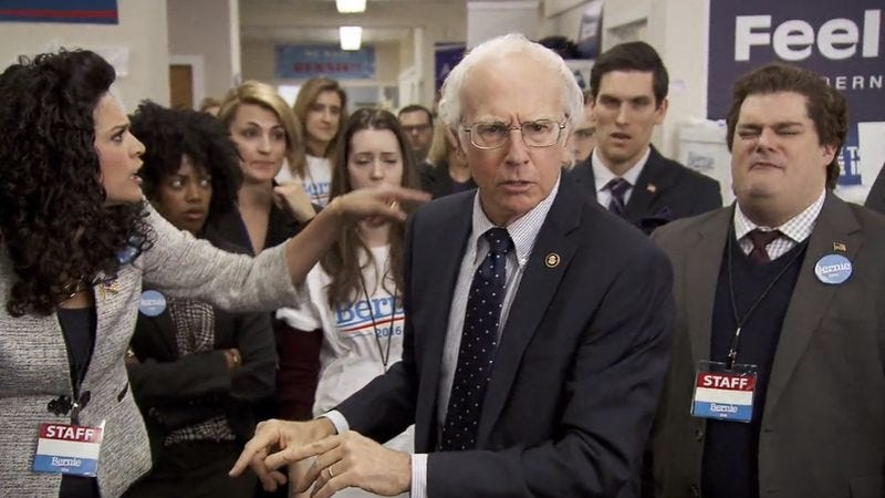 Larry as Bernie as Larry (NBC)