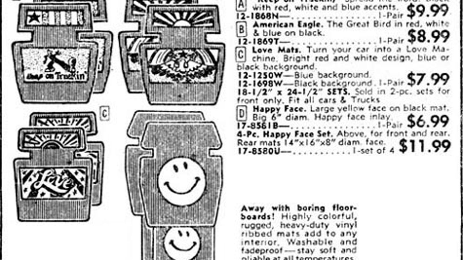 JC Whitney 1975: Turn Your Car Into a Love Machine
