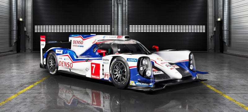 Illustration for article titled This Is Toyota's 1,000 Horsepower AWD Hybrid Le Mans Weapon