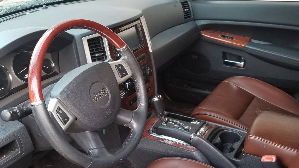 At $12,000, Might This 2008 Jeep Grand Cherokee Overland CRD