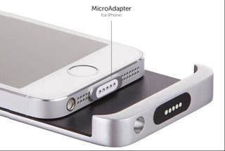 Illustration for article titled A MagSafe Charger for the iPhone Would Be Awesome