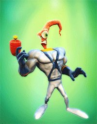 Illustration for article titled Earthworm Jim Shines On Euro VC