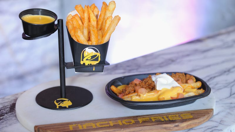 Illustration for article titled Taco Bell reveals that Nacho Fries are back in Demolition Man-themed trailer