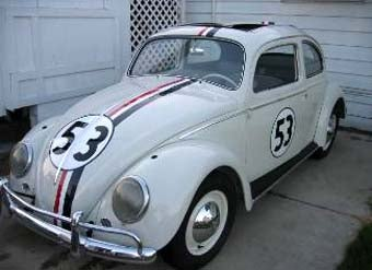 Illustration for article titled Nice Price Or Crack Pipe: Herbie The Love Bug Replica For $20,000?