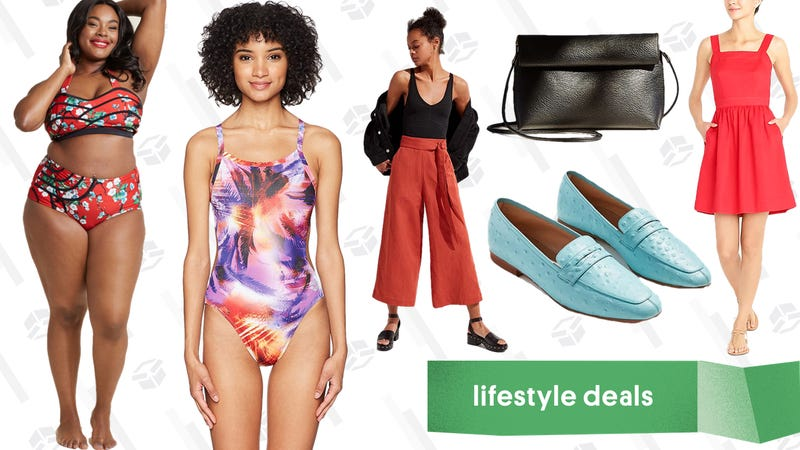 Illustration for article titled Tuesday's Best Lifestyle Deals: Amazon Swimwear, Urban Outfitters, J.Crew Factory, and More