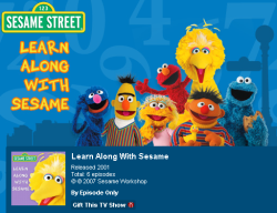Illustration for article titled Teach kids valuable lessons with free Sesame Street iPod videos
